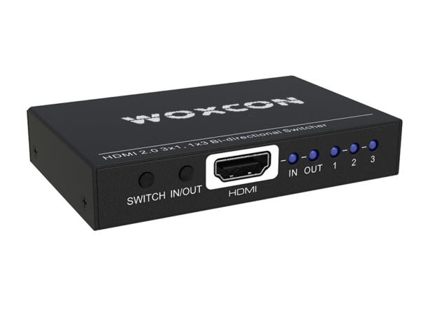 HDMI 2.0 Bi-directional Switcher 1x3 or 3x1