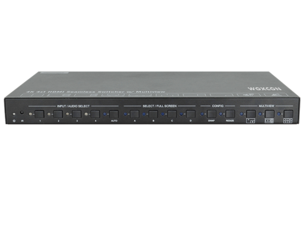 4K 4X1 HDMI Seamless Switcher with Multiview Processor
