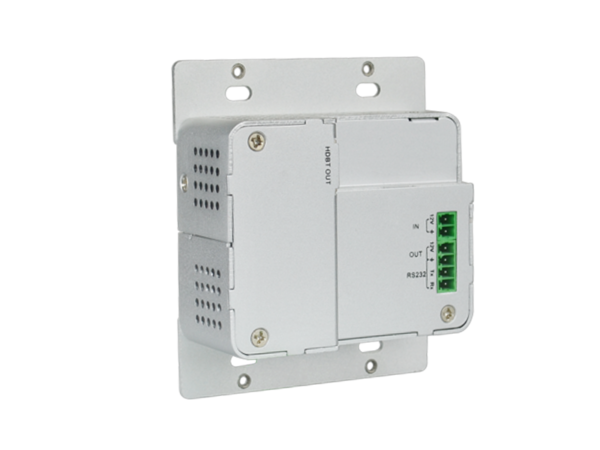 4K Wallplate HDBaseT Transmitter 2 x HDMI Input with RS-232 Control